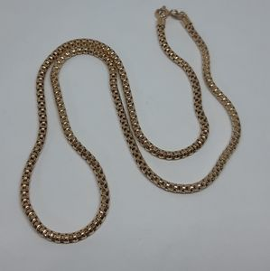 Solid 10K Gold Snake Chain